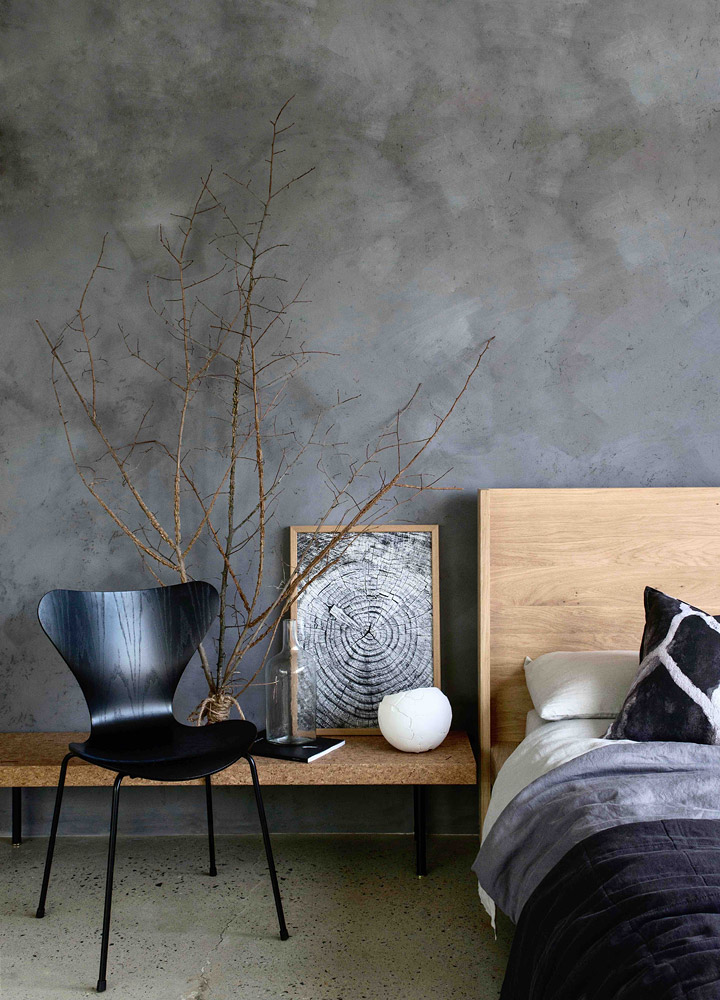 Meghan Plowman and Bauwerk Colour Refined Raw - Riverstone Lime Wash Paint