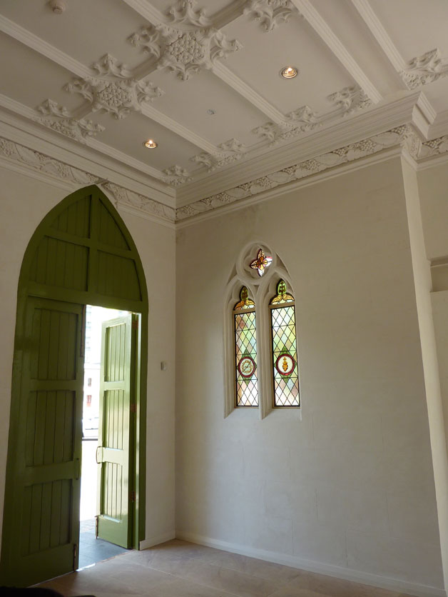 High Quality Bauwerk Colour Lime Wash Paint   St Maryu0027s Cathedral Perth Interior Window  And Ceiling